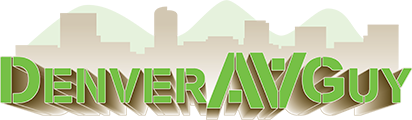 The Denver AV Guy Logo